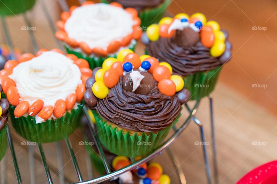 Gobble gobble cupcake