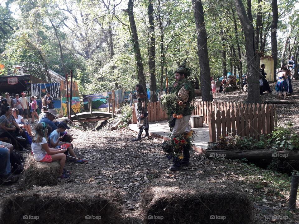 Renaissance Festival Woodland Storytellers