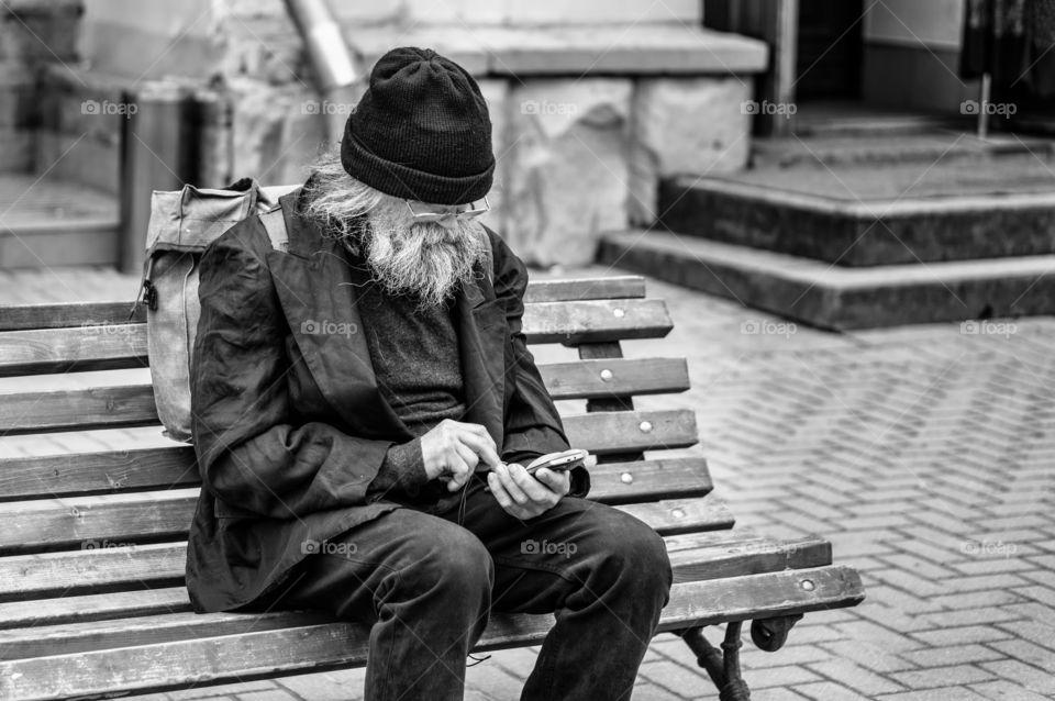 Old man , new technologies