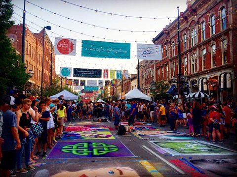 Chalk festival -Denver, Colorado
