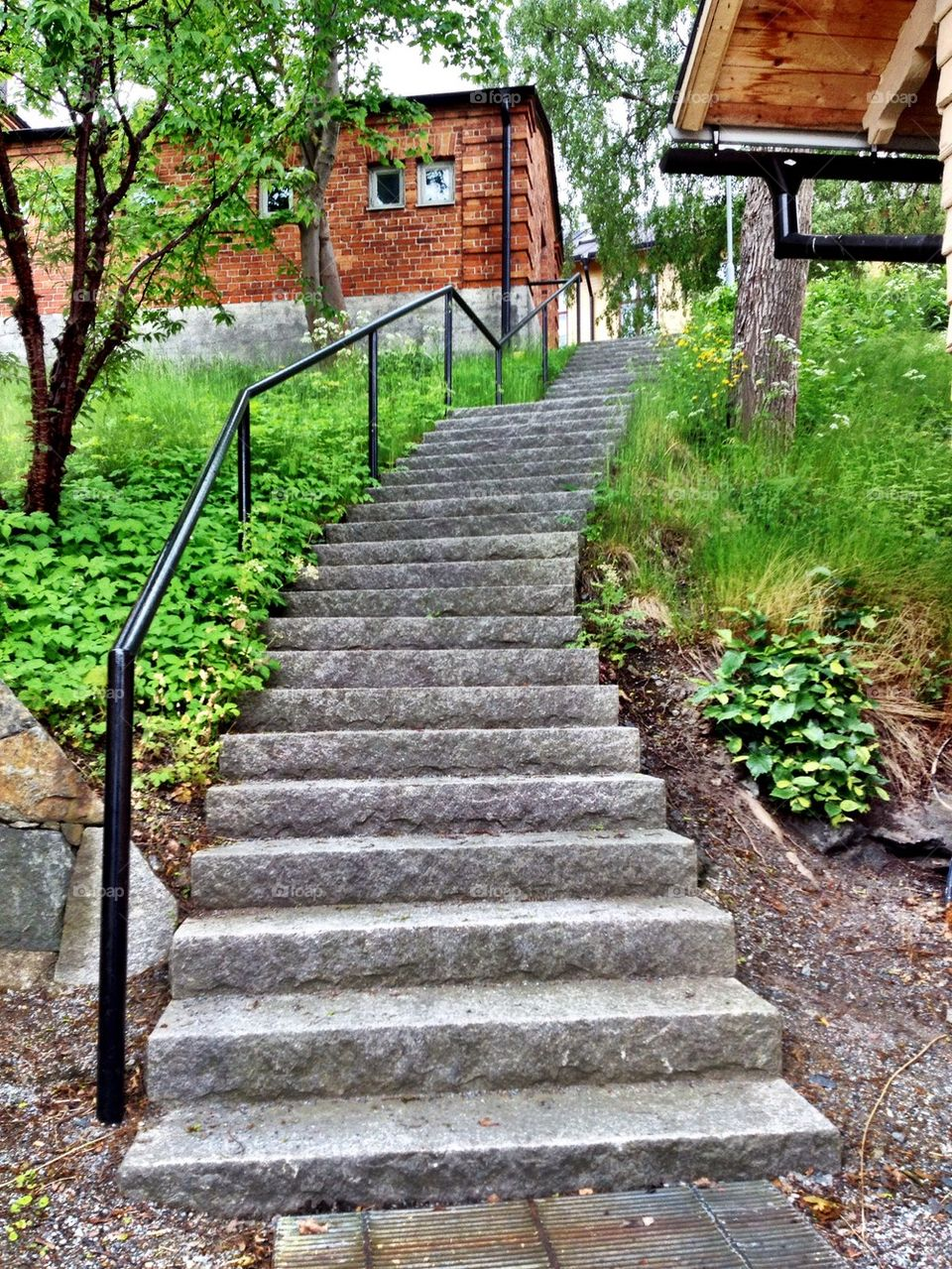 Stairway to the citadell