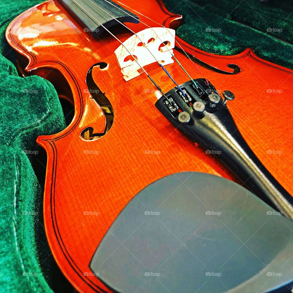 Everytime the violin plays, it actually sings another story.