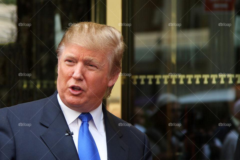 president Donald