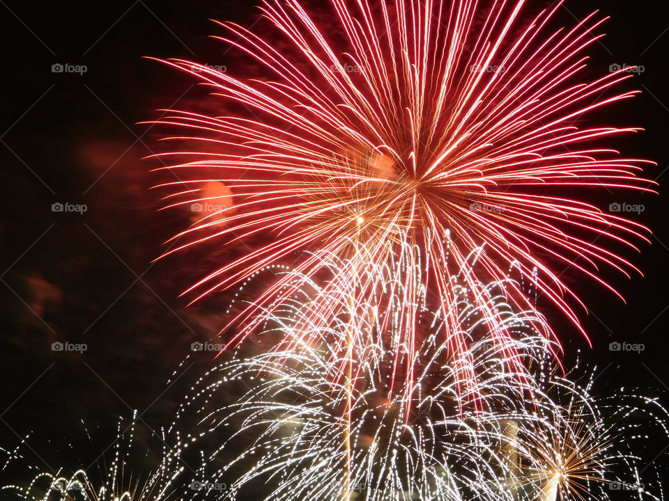 Fireworks | fireworks, no person, festival, explosion