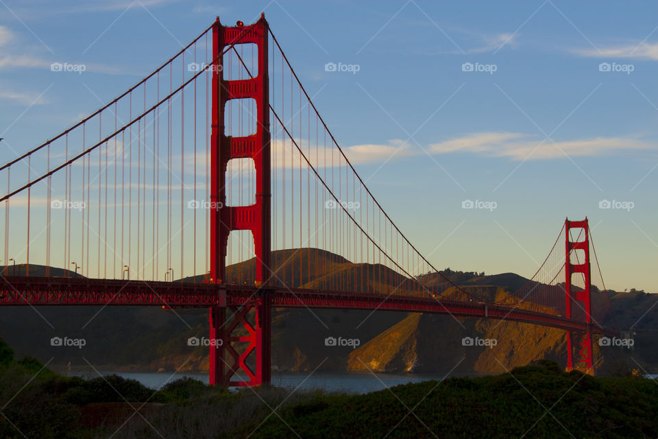 THE GOLDEN GATE BRIDGE SAN FRANCISCO CALIFORNIA USA