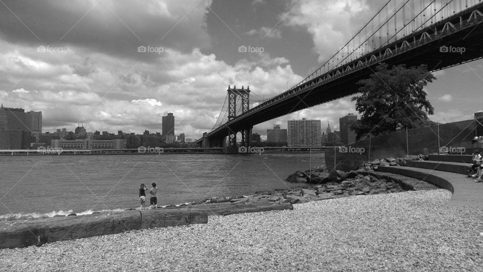 view from dumbo