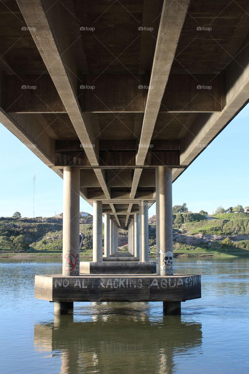 Puente nuevo, Viedma, Río Negro