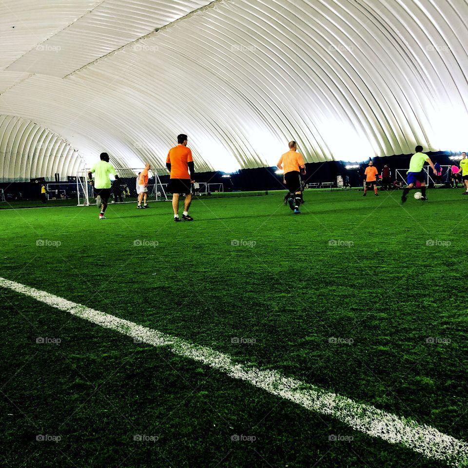 Binghamton sports complex indoor facility