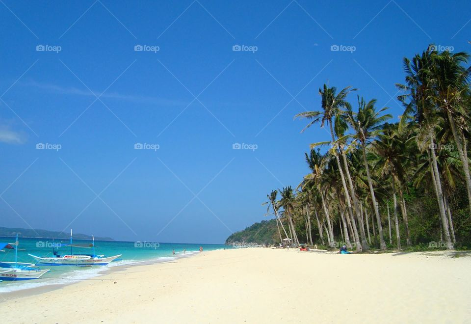 boracay sand