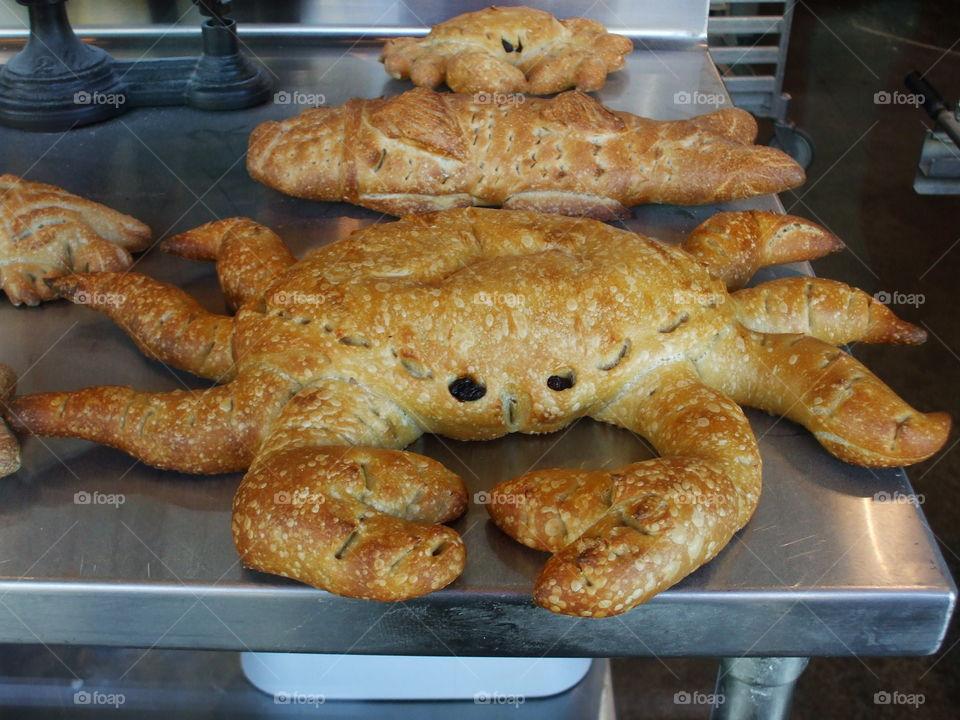 crab Bread of san Francisco fishermans wharf