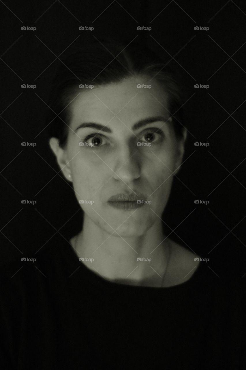 #portrait #black and white #people #women #monochrome #model #eye