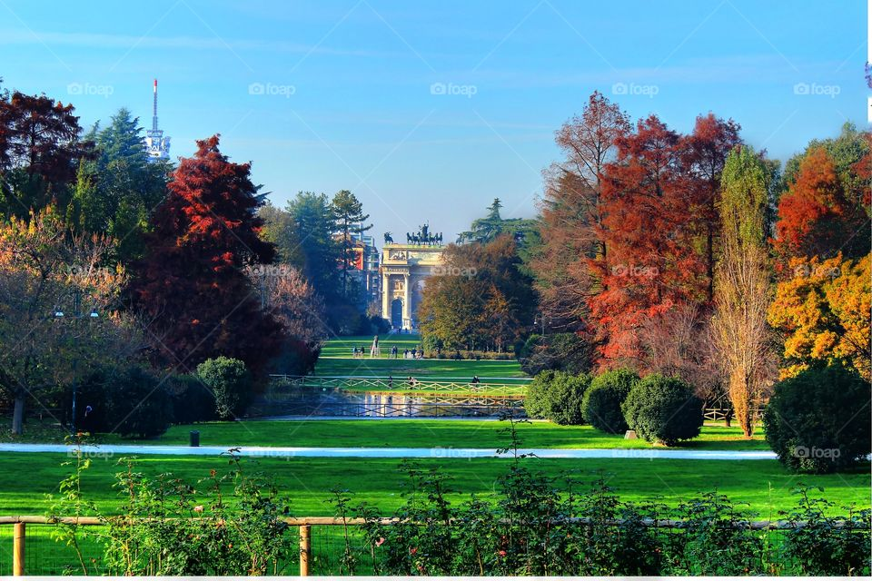 Milan Central Park . Milan Central Park