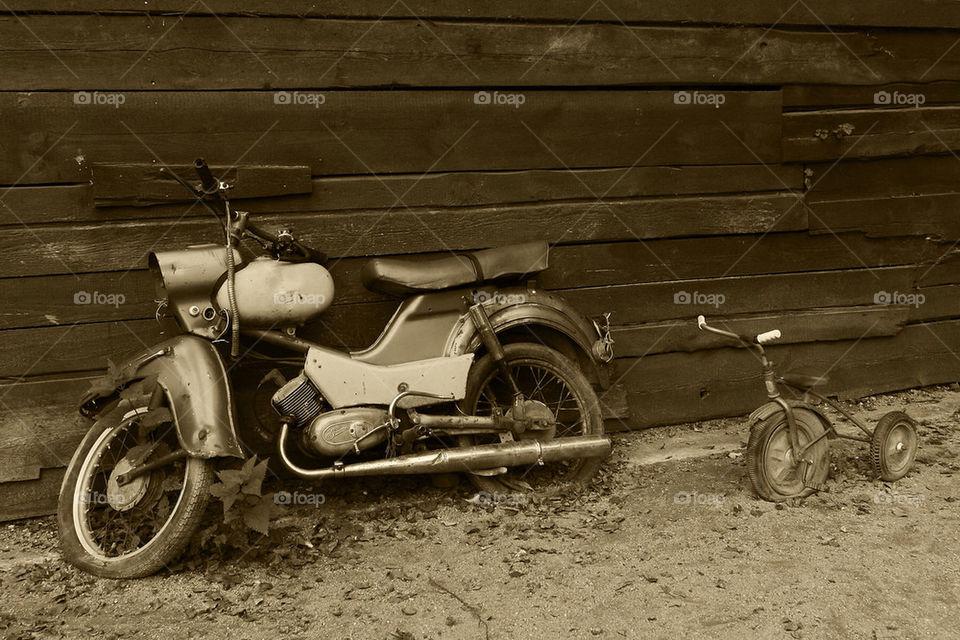 bike old bikes oldtimer by dryair