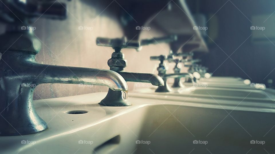 old faucets