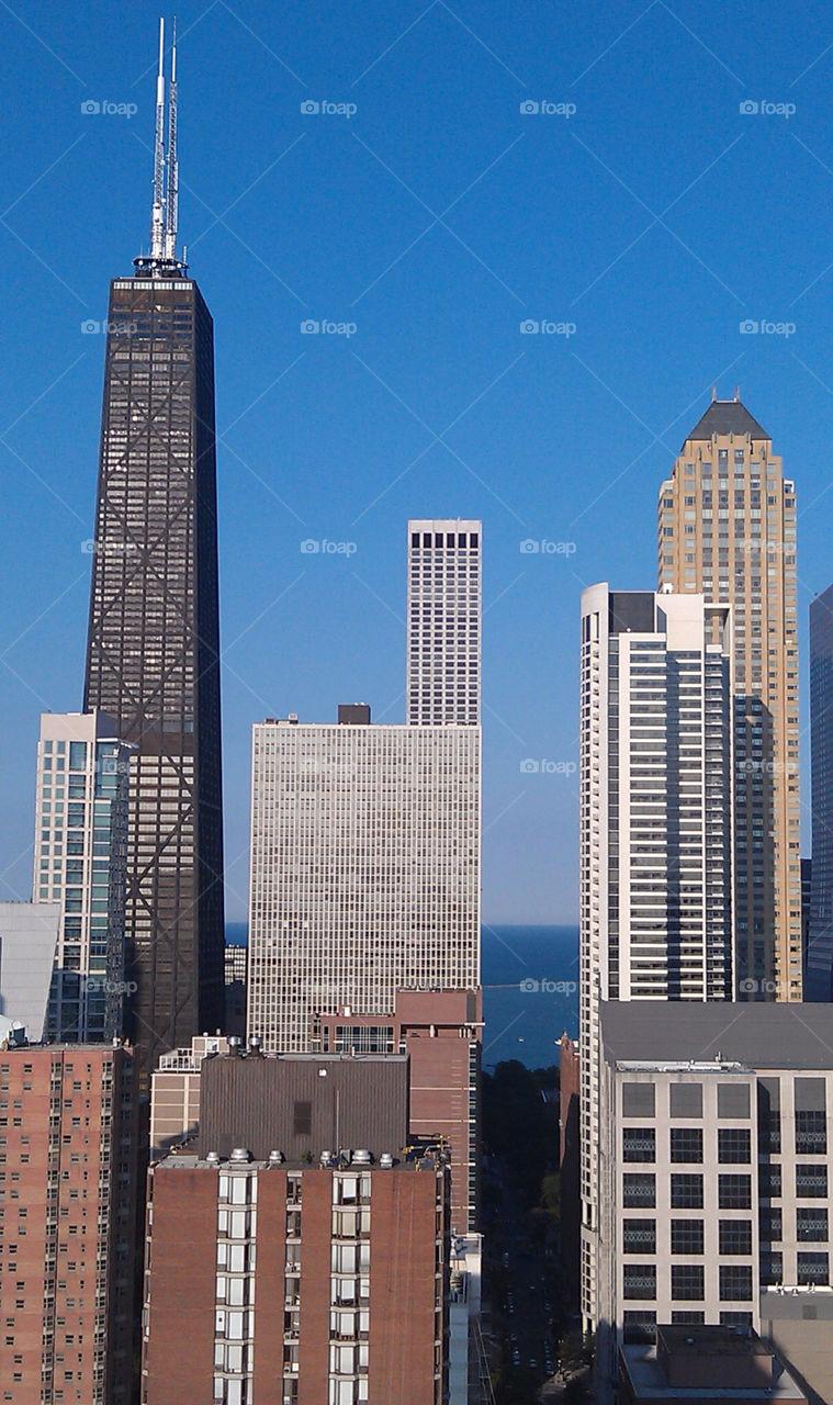 city chicago skyline skyline chicago by jfagan85