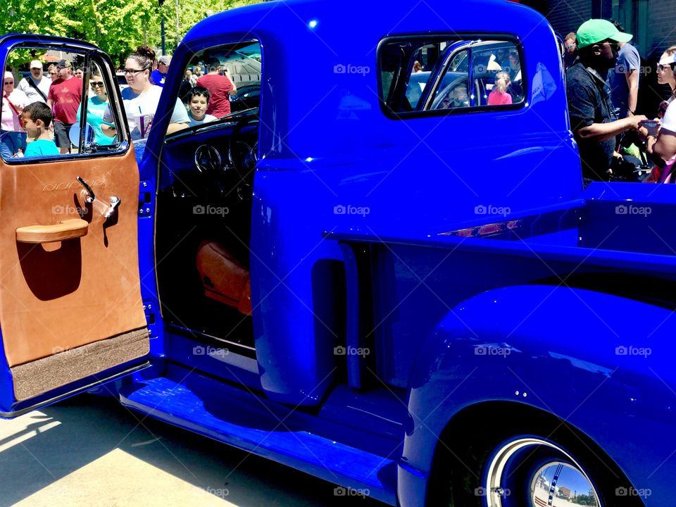 Chevrolet antique car