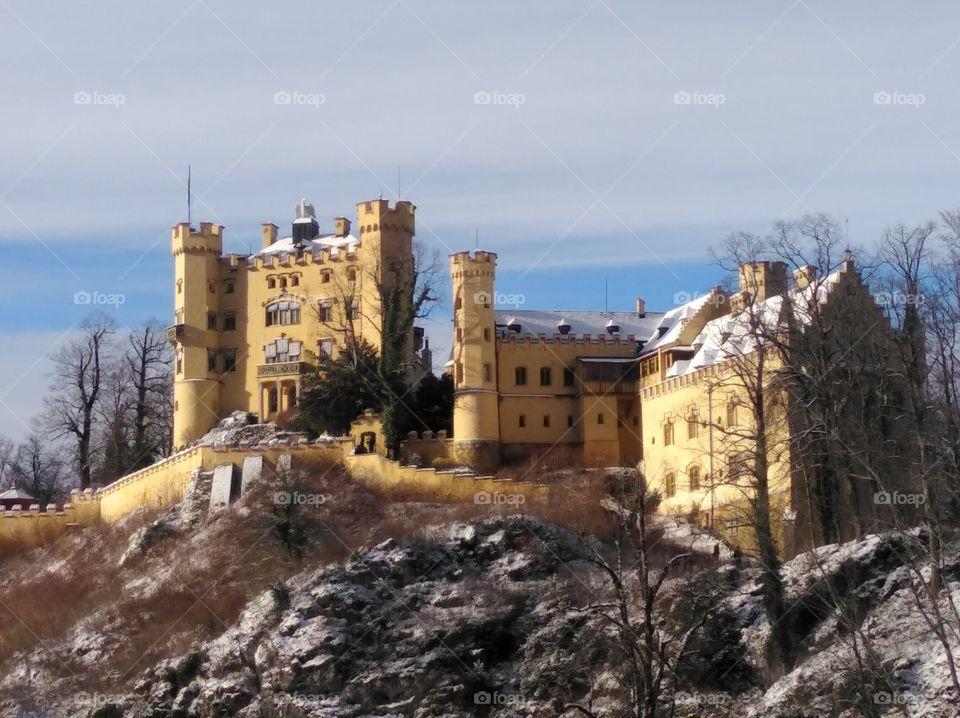 old castle, Hohenschwangau