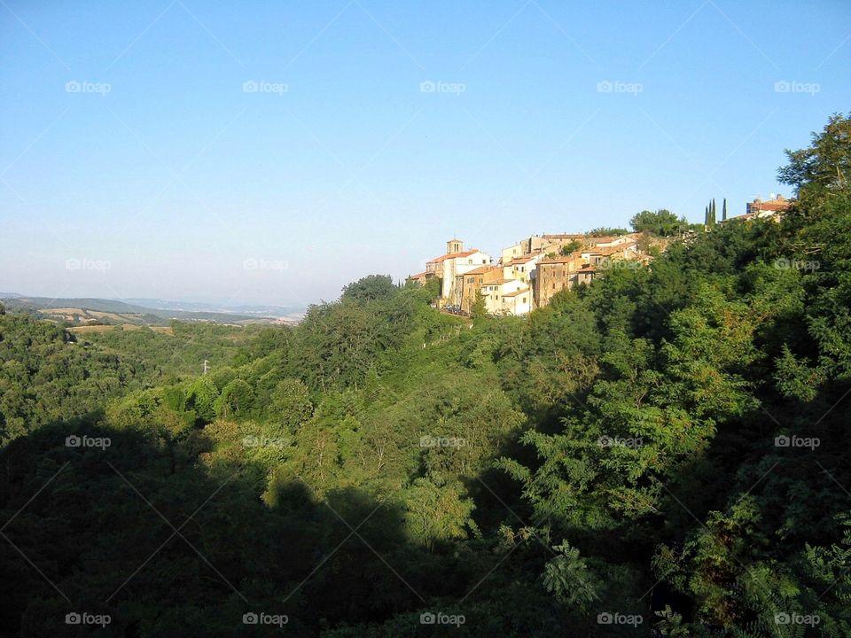 Dawn in Tuscany, Italy