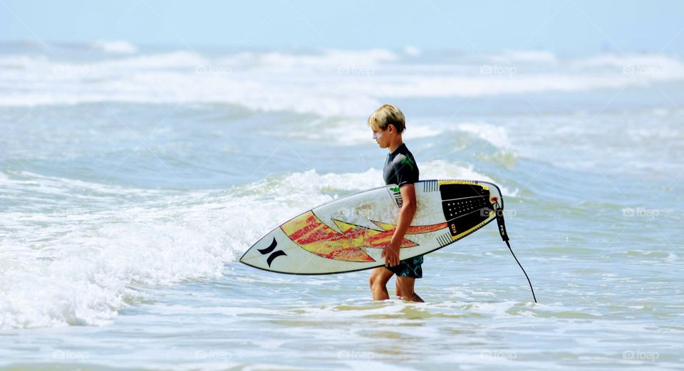 Lone Surfer Hurley Surf Boards