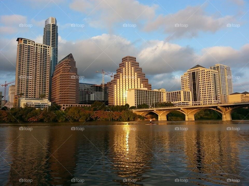 Austin Skyline Sunset