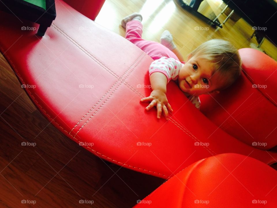 People, Girl, Indoors, Child, Seat