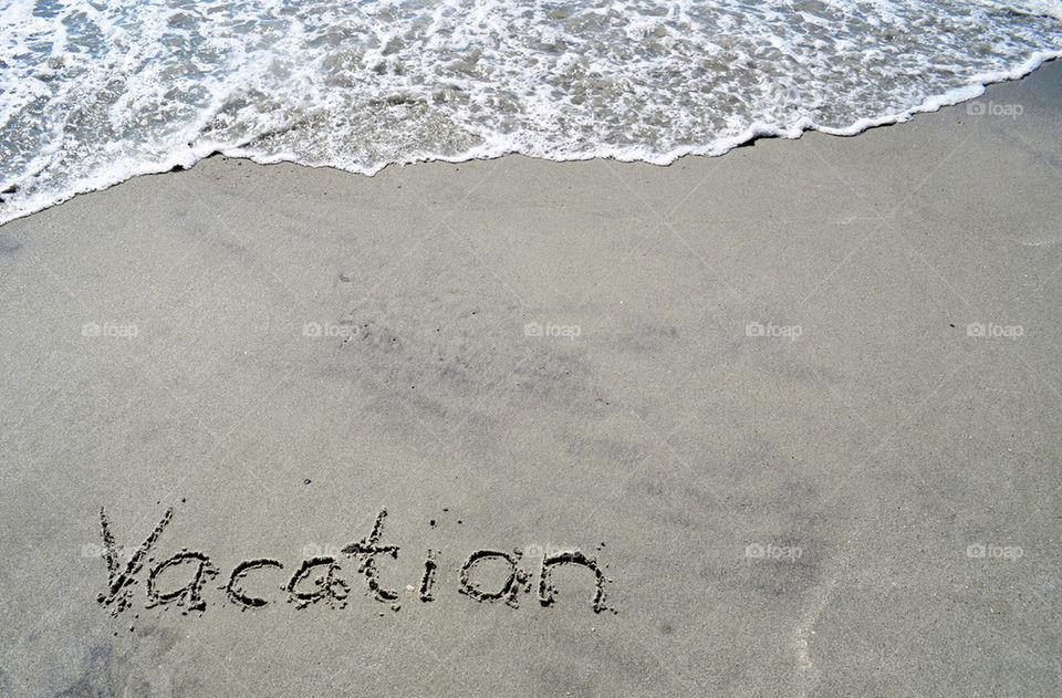 beach ocean vacation sand by refocusphoto