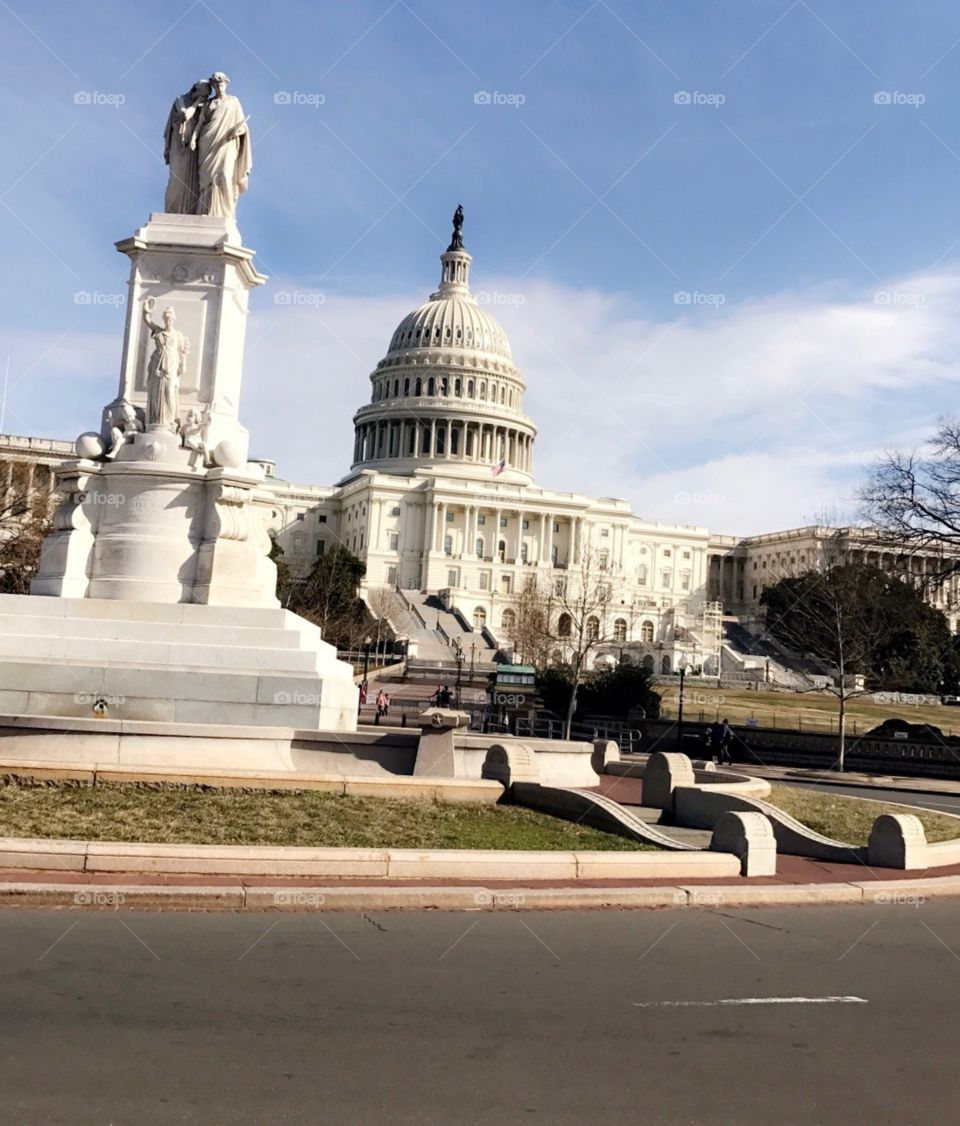 The Capitol Building, where changes are made.