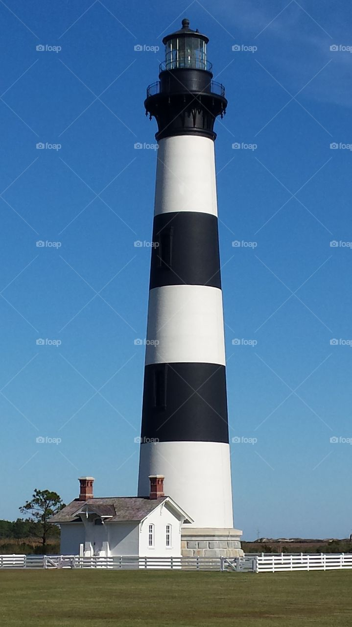 View of bodie lighthouse, North Carolina