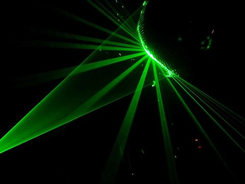 Disco laser. Taken over 4 years ago, but still one of my favorites.
