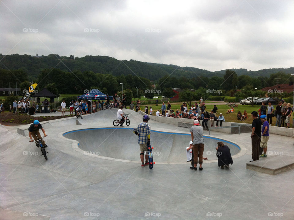 park skate båstad by bildagenturen