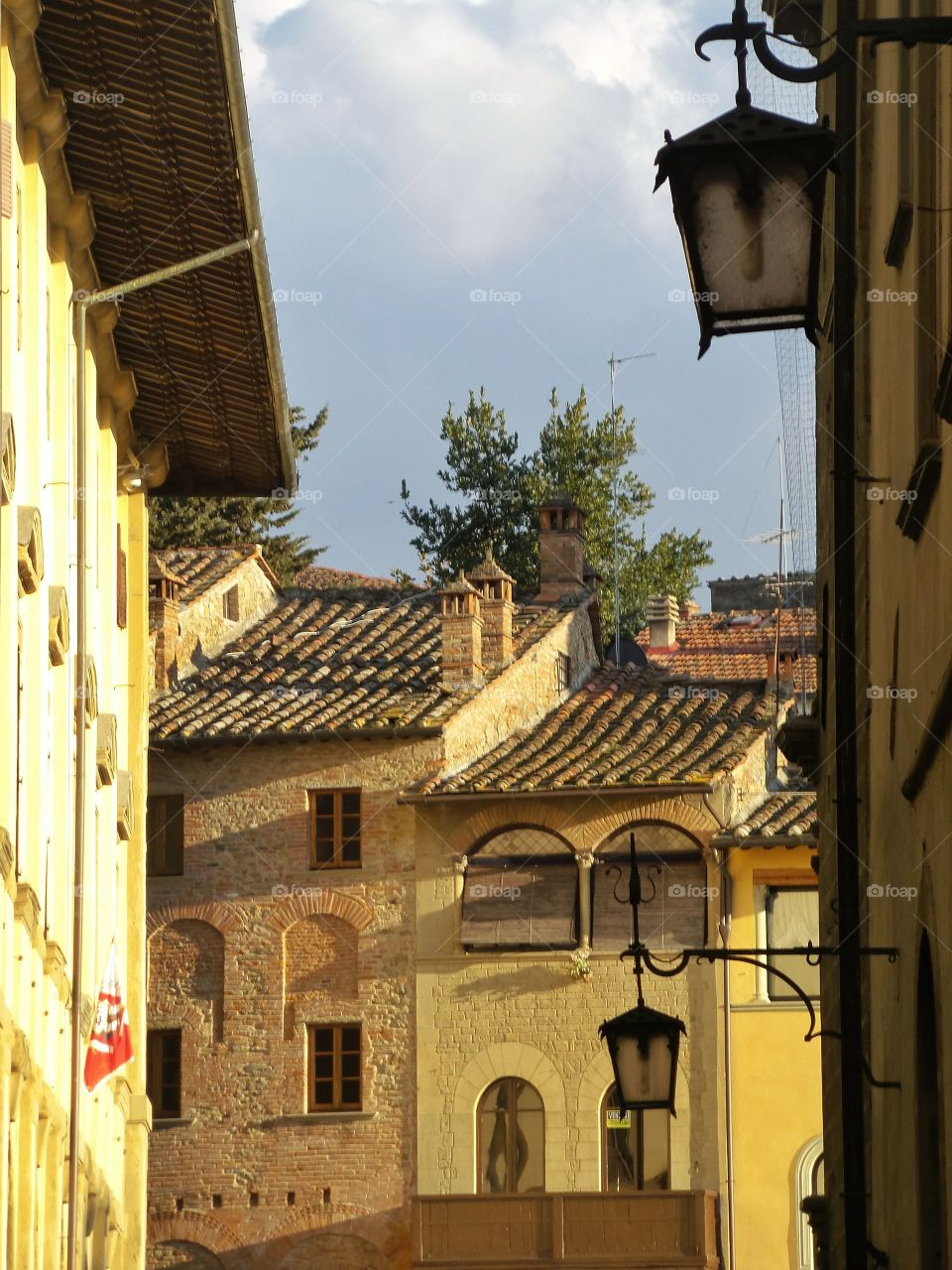 In Arezzo.... Just a fast shot of this wonderful Tuscan town...