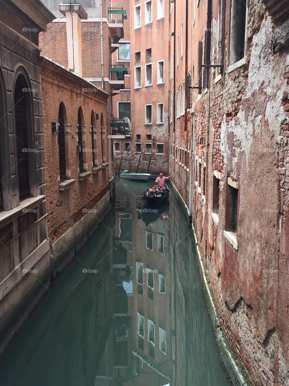 No Customers. San Polo. Venice, Italy