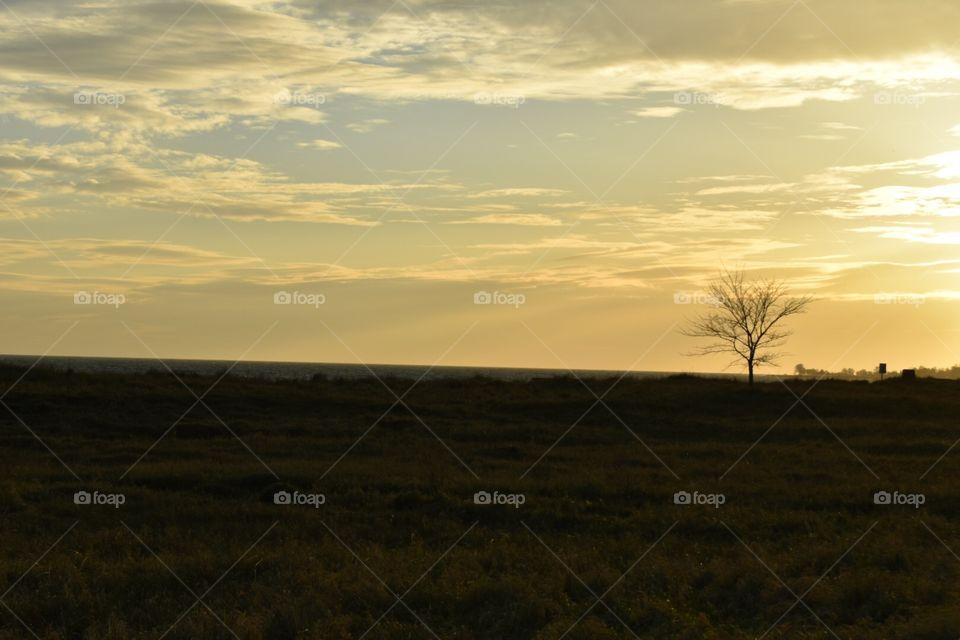Landscape, Sunset, No Person, Dawn, Sky