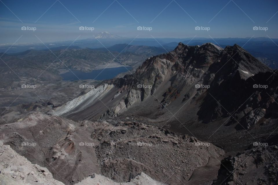 Top of Mt. St. Helens