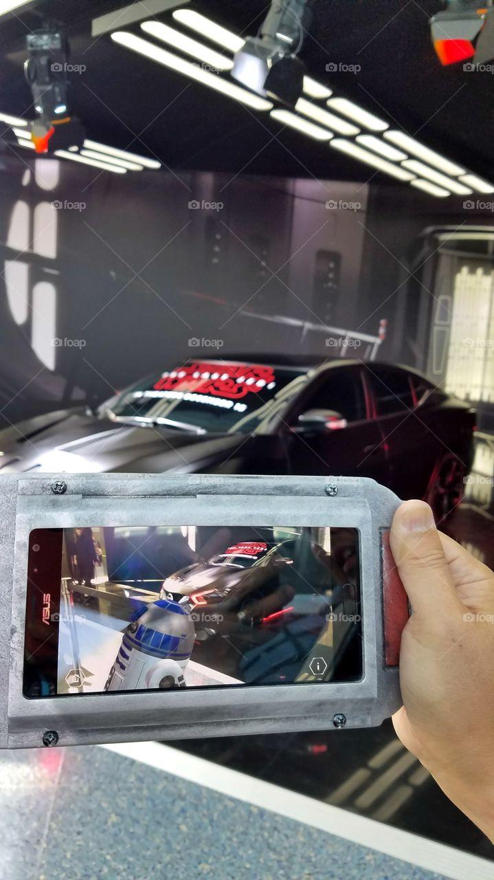 Virtual reality Star wars Nissan