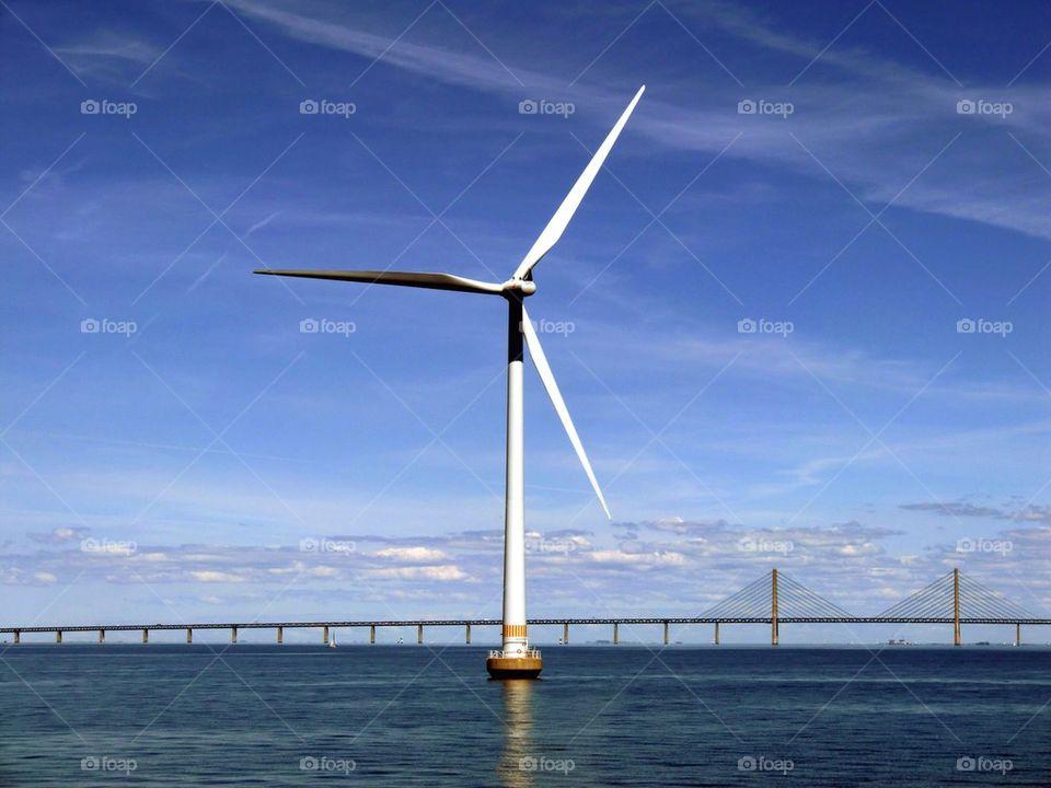 Wind turbine, Sweden.