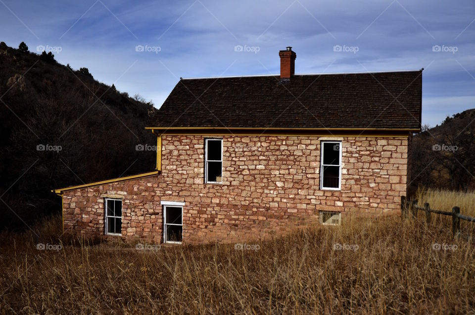 Barn, No Person, Abandoned, House, Building