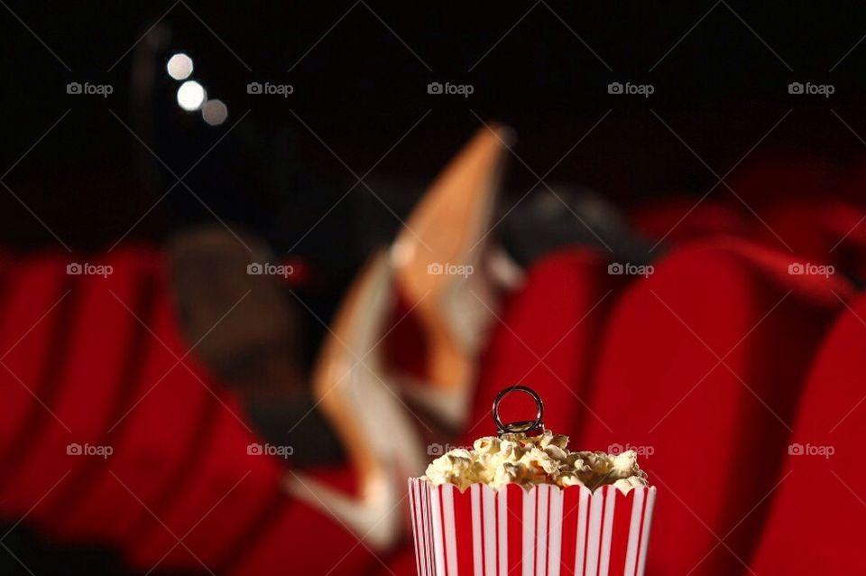 Popcorn, movies and love