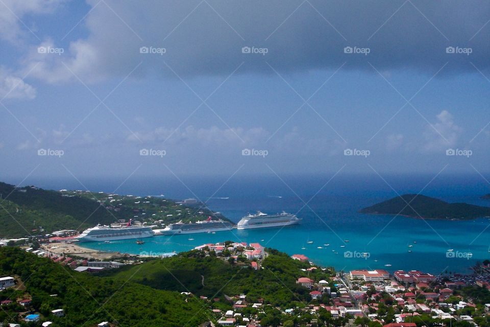 View overlooking St Thomas