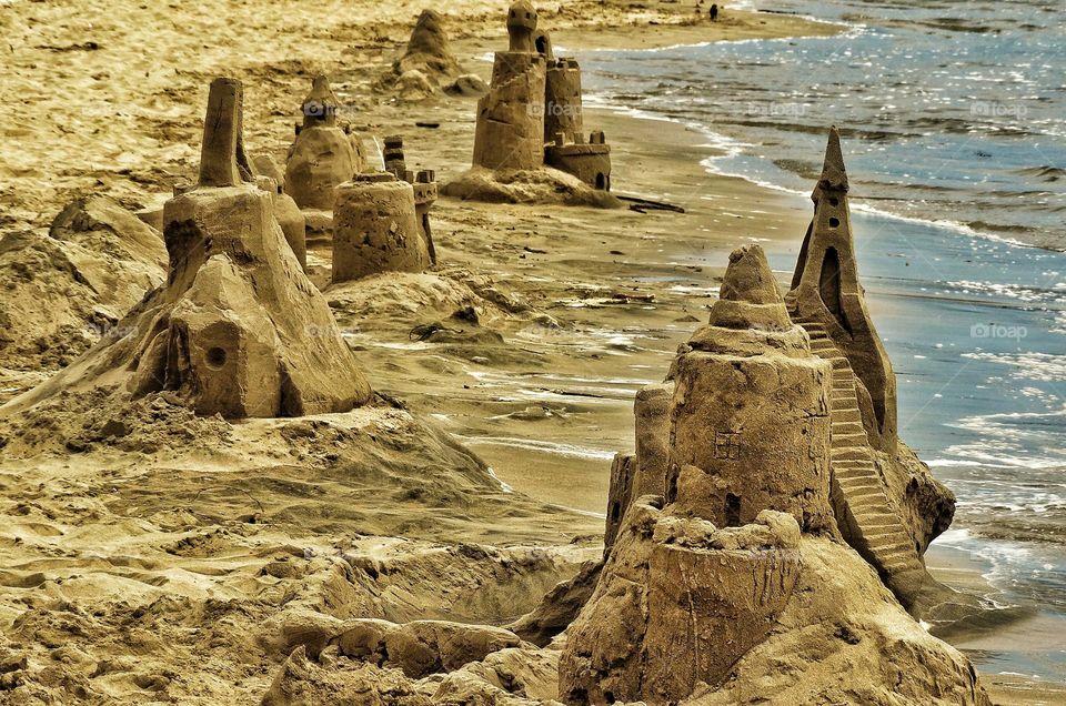 Summer Sand Castles