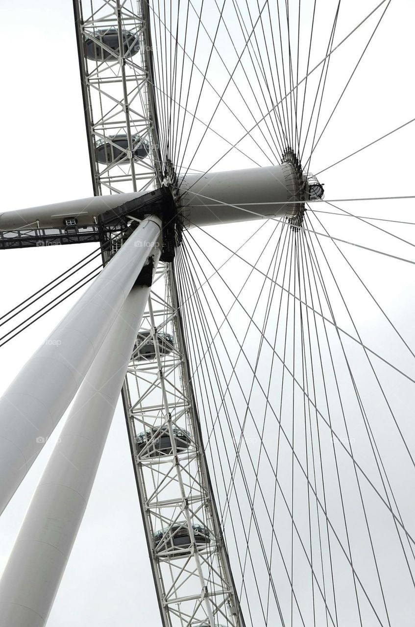 Ferris wheel. London Eye