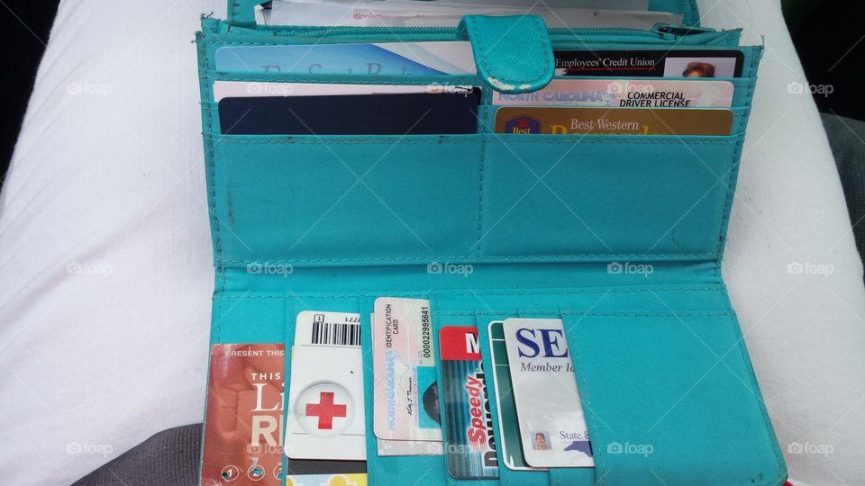 wallet contents