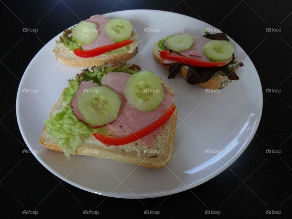 funny and healthy breakfast
