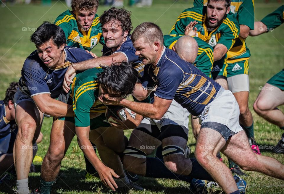 Gang Tackle  | image, sports, men, competition