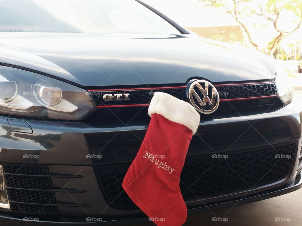 I hope I still get a gift. My GTI has been naughty.