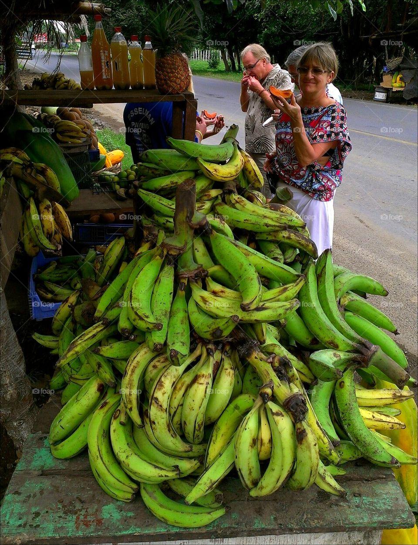 Fruit Stand Costa Rica