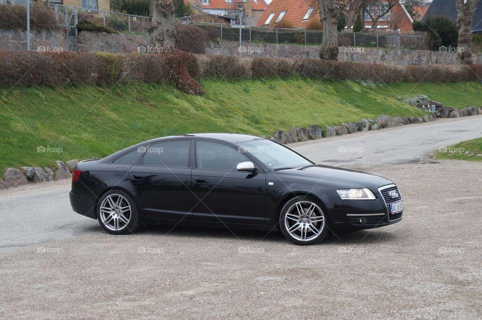 So hot!. My Audi A6 🎶