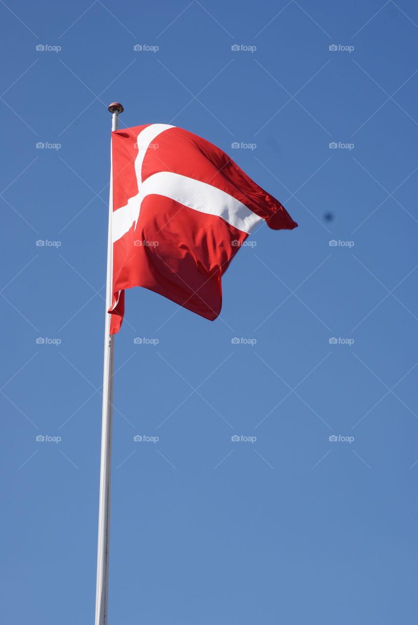 beautiful Danish flag