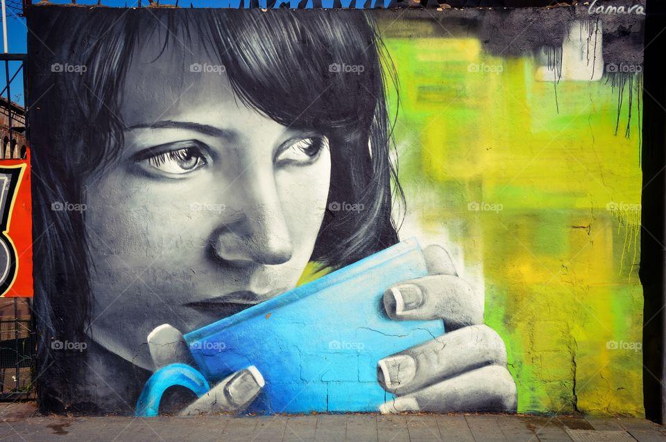 Arte Urbano, calle Na Jordana (Valencia - Spain)