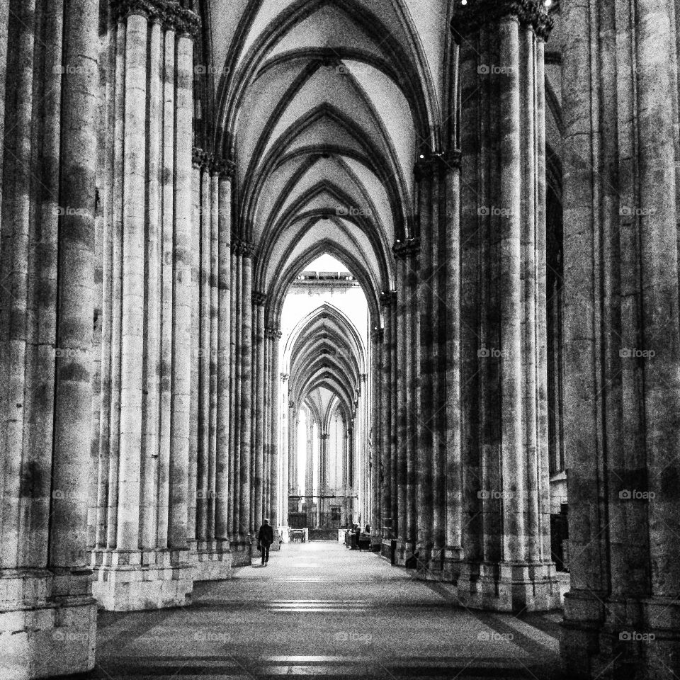 Kölner Dom. Cathedral in Cologne